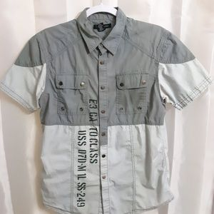 INC International Concepts Short Sleeve Shirt